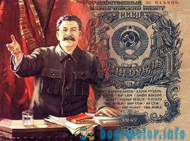 Stalin unleashed the dollar in 1947