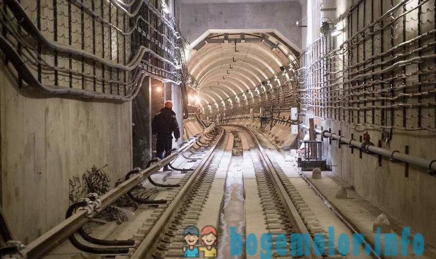 How do dig tunnels for the metro
