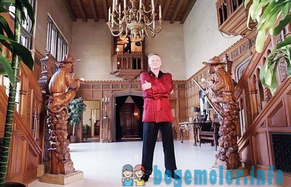 What to do with the estate after the death of Playboy Hugh Hefner
