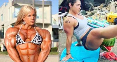 The strongest girl bodybuilders