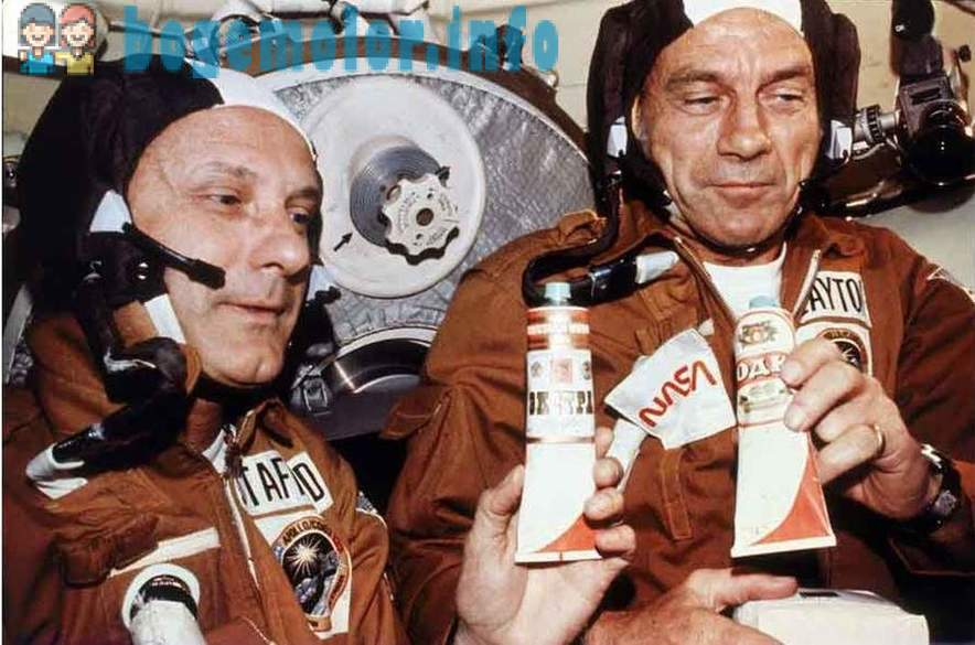 As our Soviet cosmonauts American
