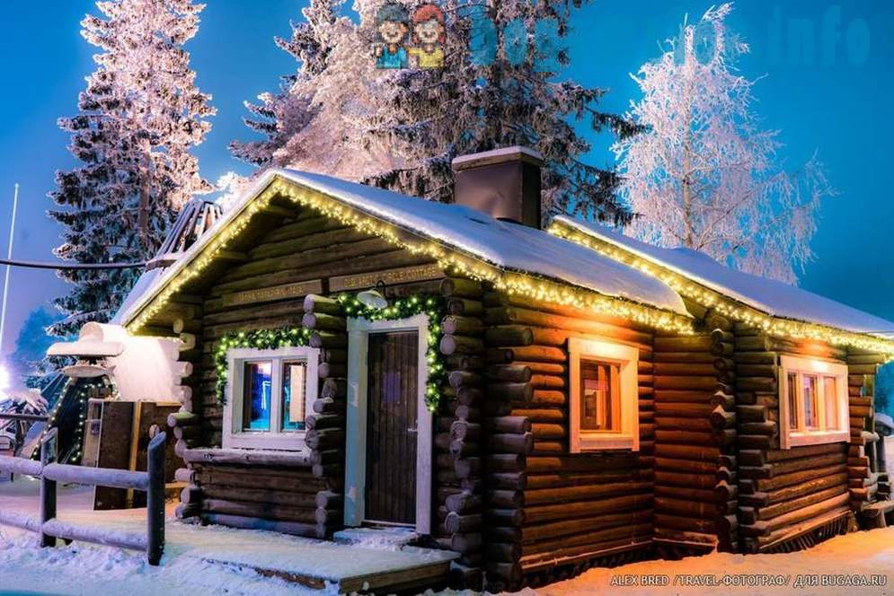 Traveling in a fairy-tale Lapland