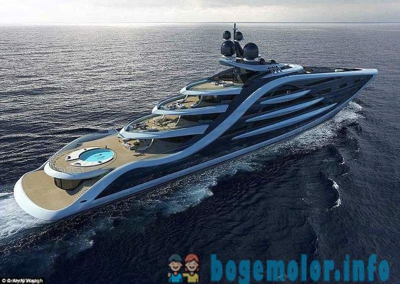 The most expensive ship in the world: the British designer presented a superyacht project worth £ 500 million.