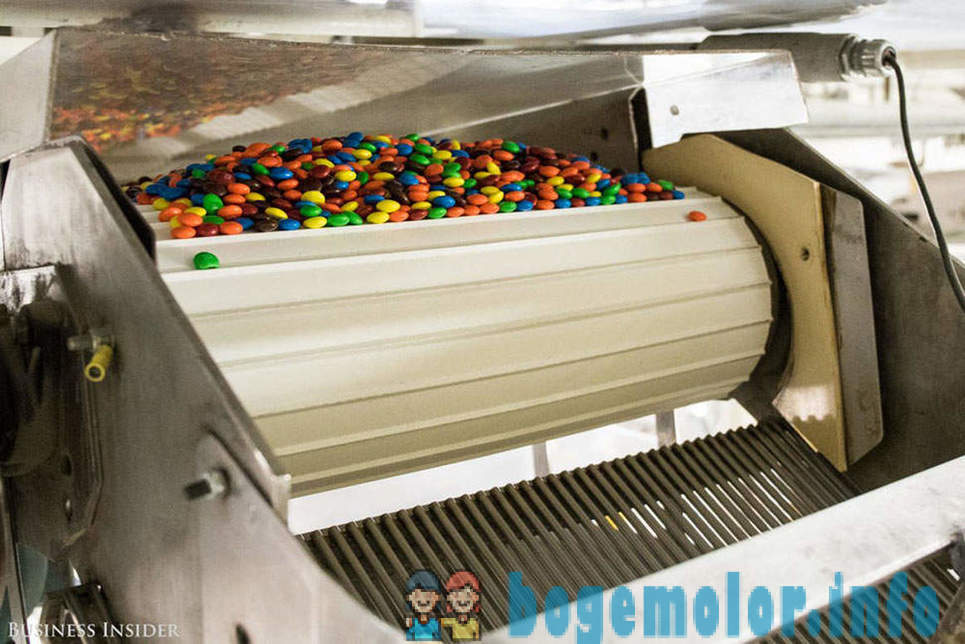On the M & M's factory: how to make chocolates that melt in your mouth, not in your hand
