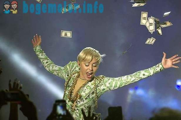The most highly paid singer - 2014