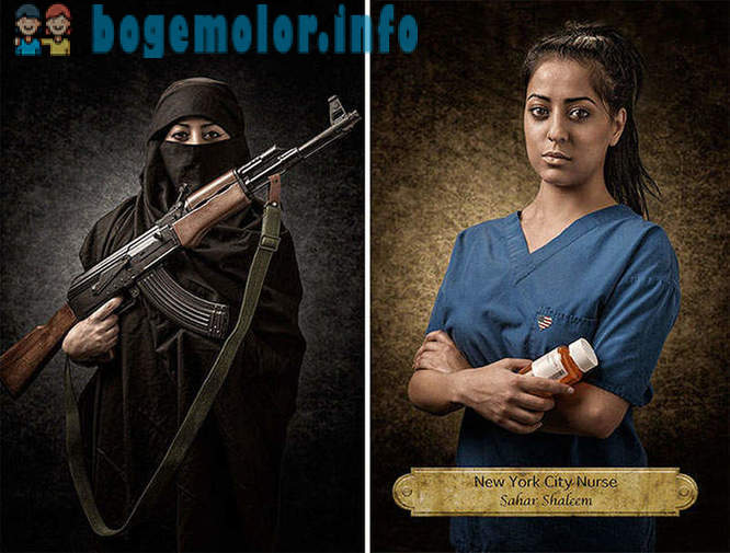 Portraits, breaking stereotypes