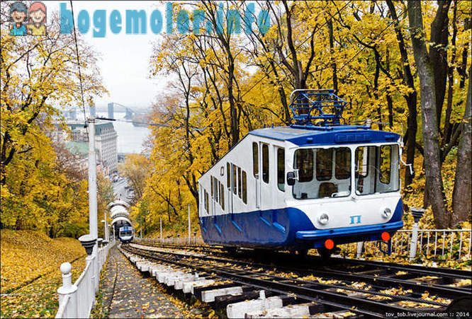How does the Kiev funicular