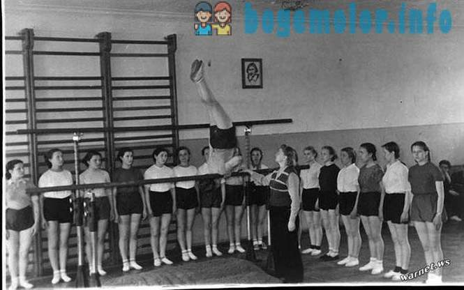 Memories of physical education classes in the USSR