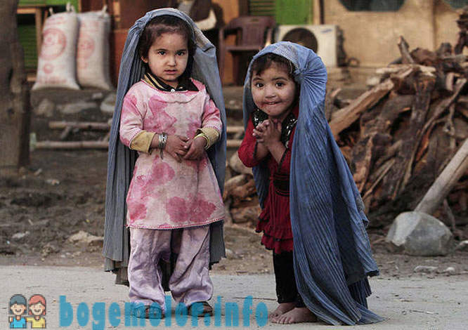 Afghanistan - war children