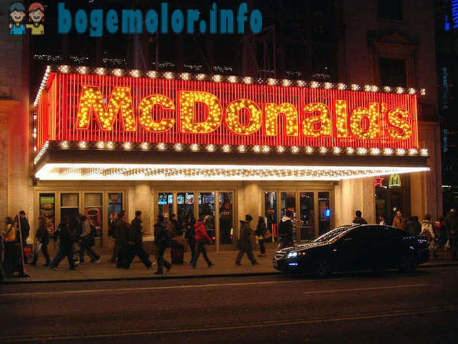 The most unusual McDonald's restaurants in the world