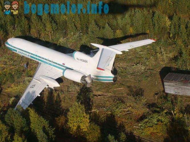 Lucky Tu-154 or Izhemsky miracle